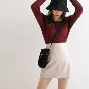型押し台形スカート